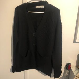 Zara knit oversized cardigan